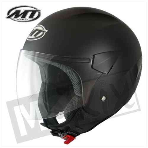 HELM MT JET SPORT CITY 867 SCHWARZ MATT XXL