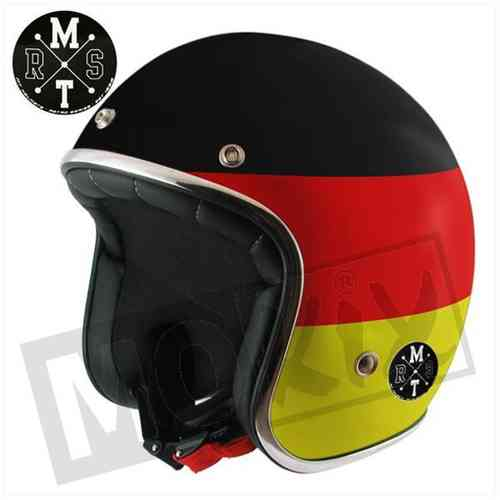 HELM MT JET LE MANS FLAG GERMANY XL
