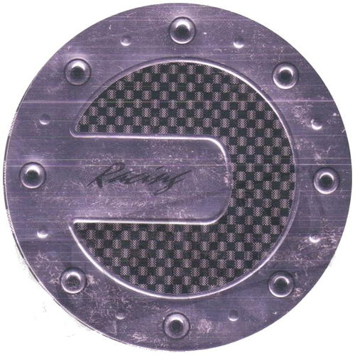 TANKDECKEL UNIVERSAL RACING STICKER CARBON