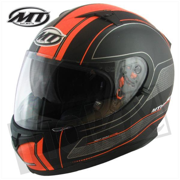 HELM BLADE RACELINE SCHWARZ/ORANGE